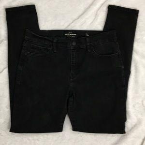 Lucky Brand Black Brooke Legging Skinny Jeans